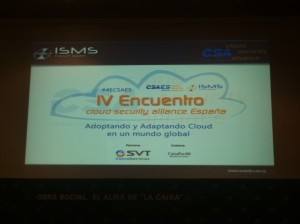 IV Encuentro de Cloud Security Alliance España
